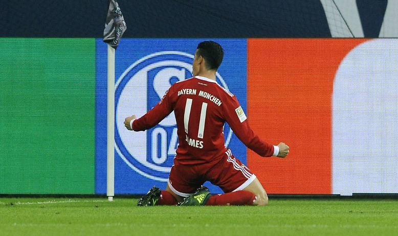 Die Wies'n läuft, beim FC Bayern läuft's. Und das auch dank Sommer-Granätchen James Rodriguez.
