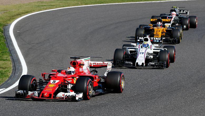 Die nächste peinliche Ferrari-Panne bringt Sebastian Vettel wohl endgültig um den  WM-Titel.