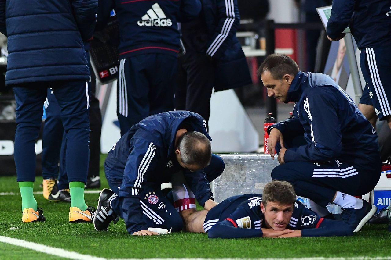 Müller fehlt dem FC Bayern drei Wochen