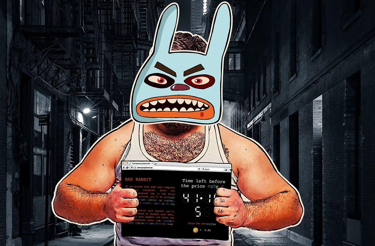 gef hrliche ransomware entdeckt bad rabbit verbreitet sich sehr schnell n. Black Bedroom Furniture Sets. Home Design Ideas