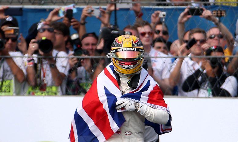 Und ist damit der große Triumphator der Formel 1. Zum vierten Mal.