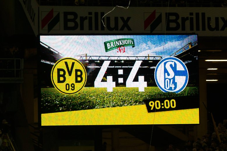 Die Schalker begnügen sich in aller Bescheidenheit mit einem Remis beim BVB.