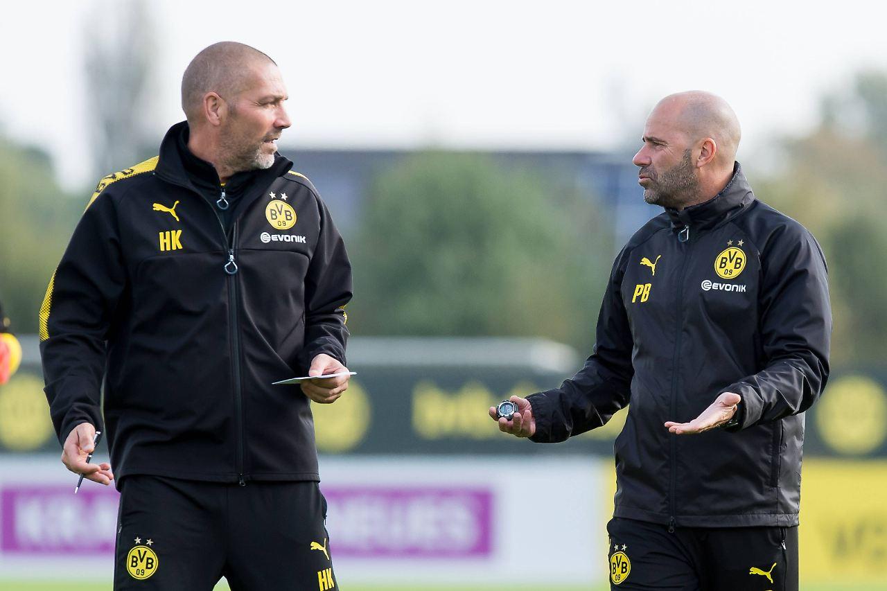 Co-Trainer von Bosz kritisiert Sokratis und großen BVB-Kader