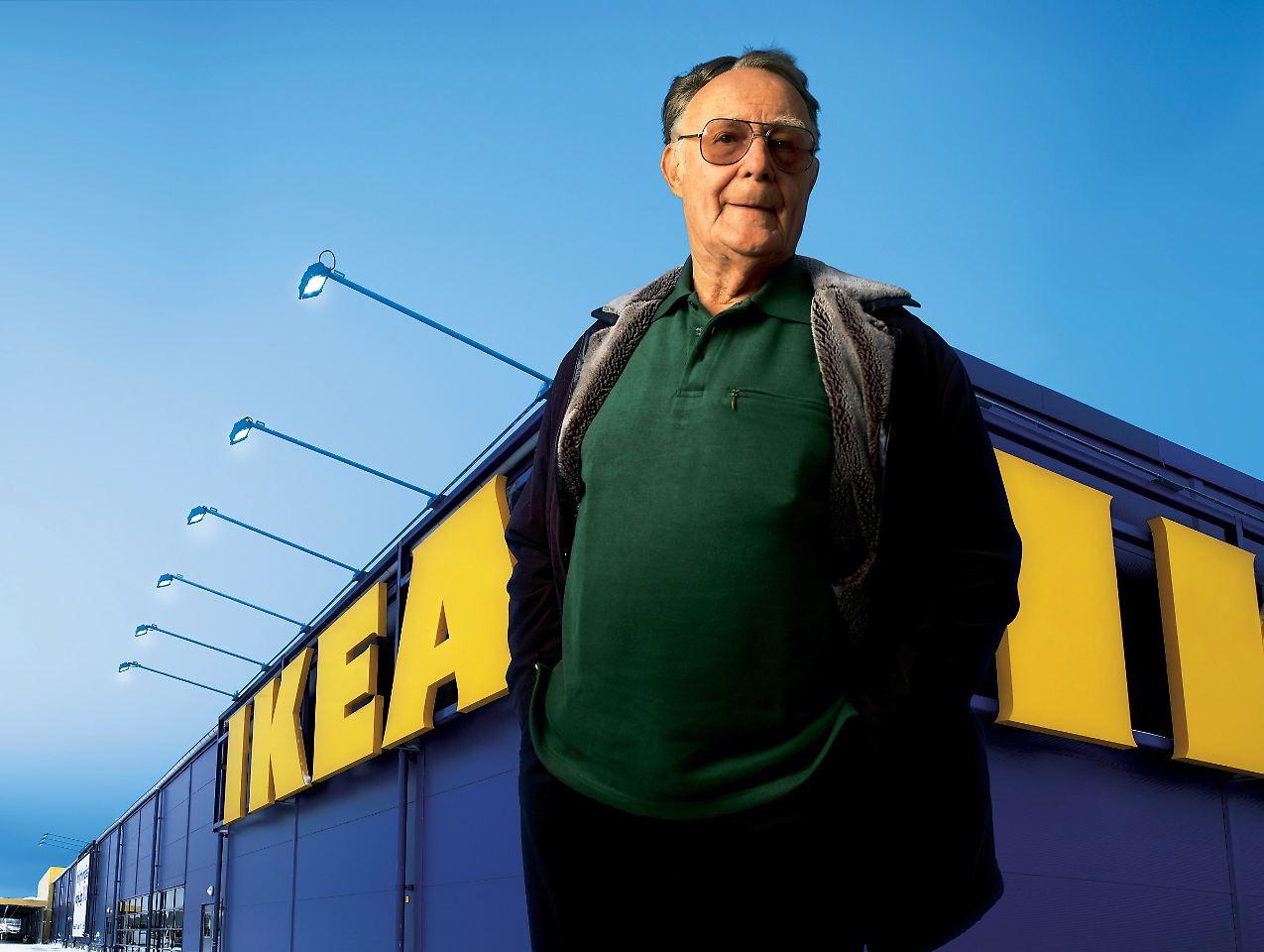 Möbel für die kleinen Leute: Ikea-Gründer Ingvar Kamprad ist tot - n ...