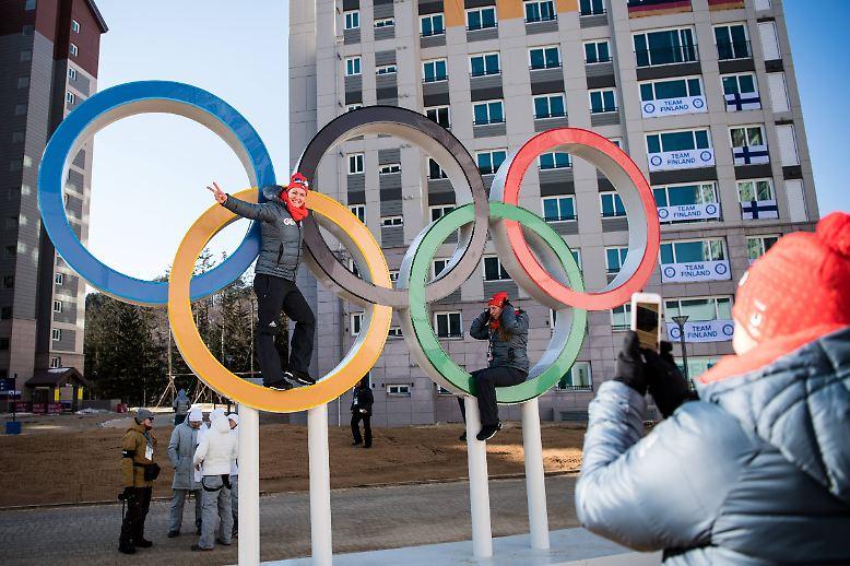 8204 Kilometer von Berlin entfernt finden die XXIII. Olympischen Winterspiele statt - im südkoreanischen Pyeongchang.