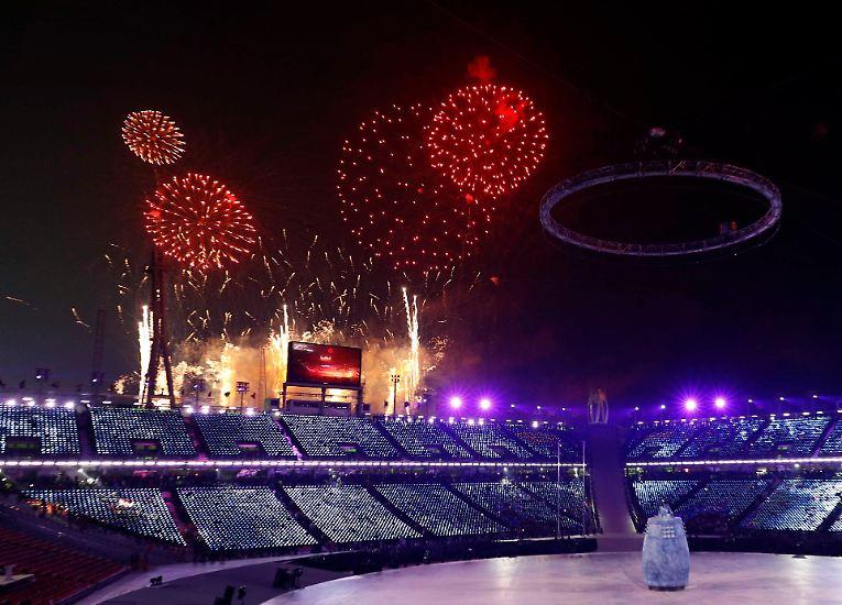 Die 23. Olympischen Winterspiele in Südkorea sind offiziell eröffnet.