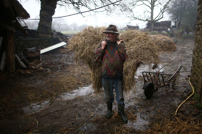 Hier lebt Jean-Bernard Huon auf seinem Bauernhof nach seinen eigenen Regeln.