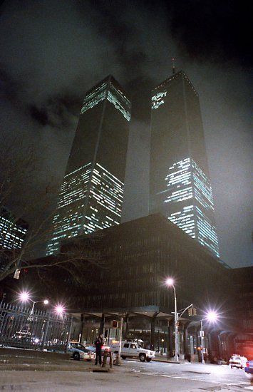 ... der Anschlag auf das World Trade Center vor genau 25 Jahren.