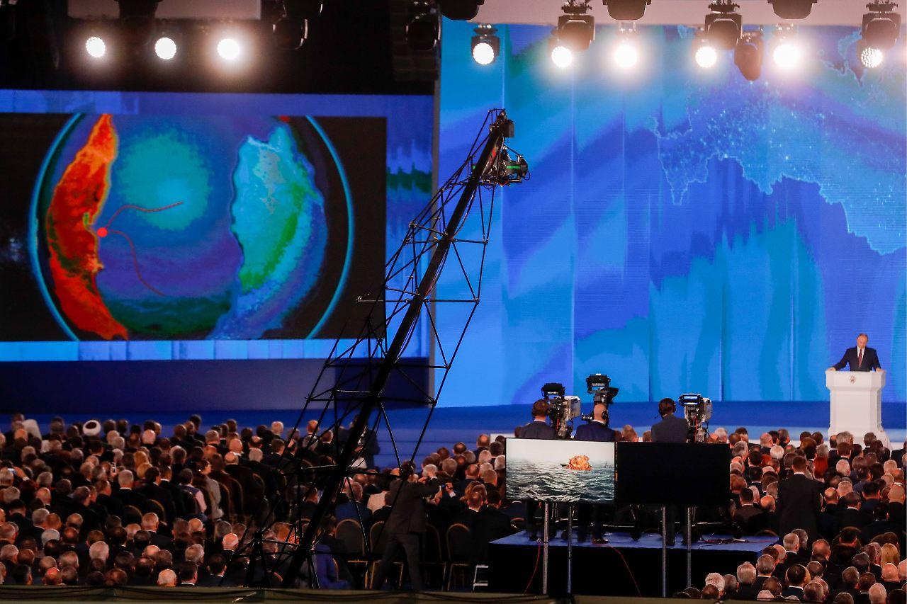 Putin präsentiert neue Atomwaffen gegen US-Raketenabwehr