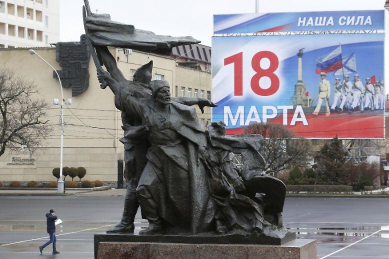 Die Russen wählen am 18. März ihren Präsidenten …