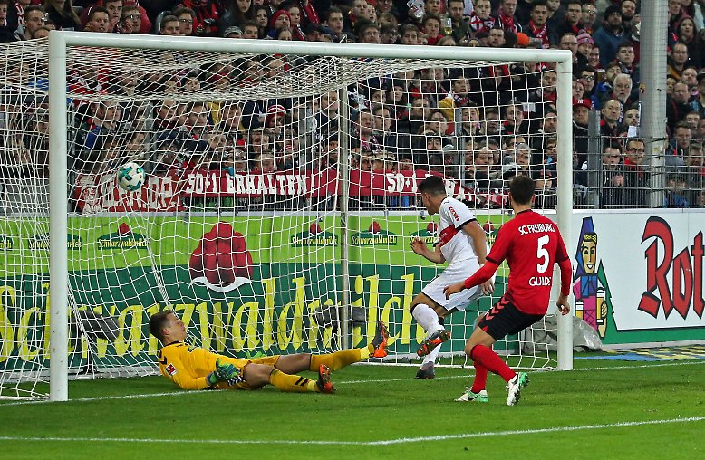 SC Freiburg - VfB Stuttgart 1:2 (0:1)