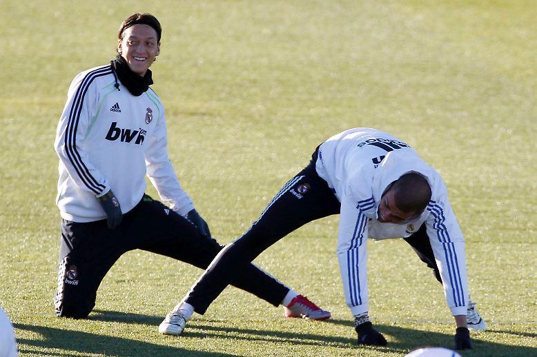 """""""Das wird ein geiles Spiel"""", hatte Real Madrids Mesut Özil vor seinem ersten """"Clasico"""" gegen den FC Barcelona frohlockt."""