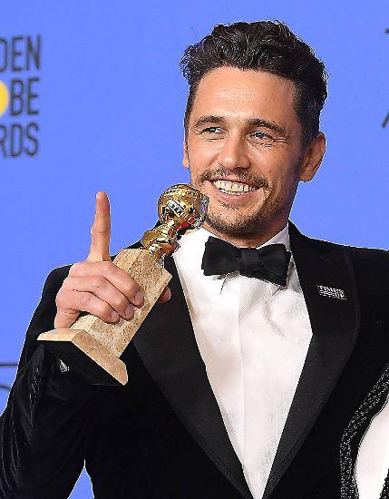 Als strahlender Sieger stand James Franco Anfang Januar 2018 auf der Golden-Globe-Bühne. Denn dort ...