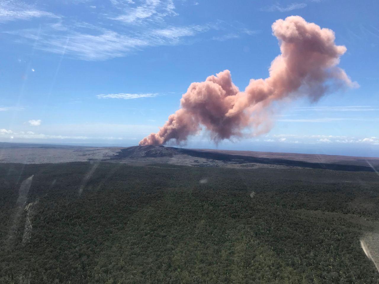 Hawaii: Vulkanausbruch auf Hawaii bedroht Wohngebiet