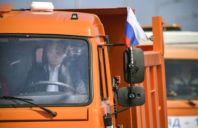 Welch ein Triumph für Wladimir Putin.