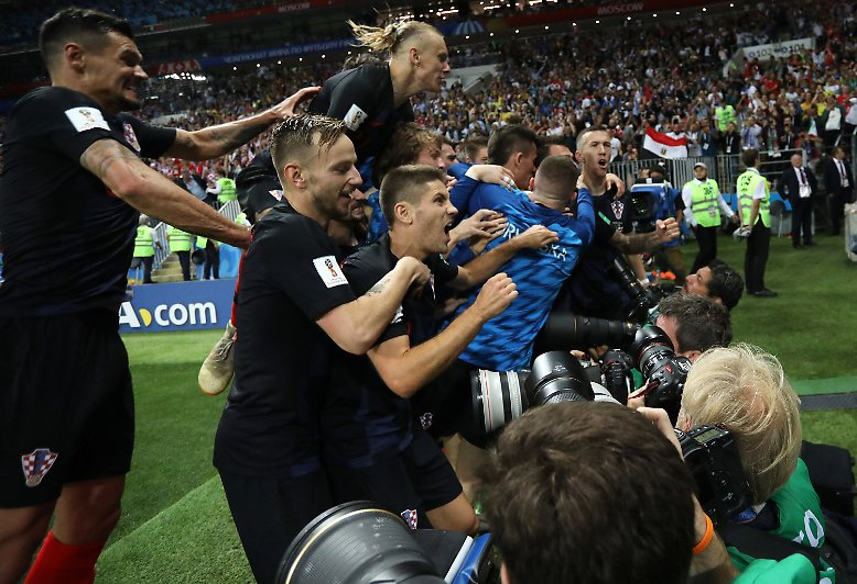 Kroatien steht erstmals im WM-Finale: