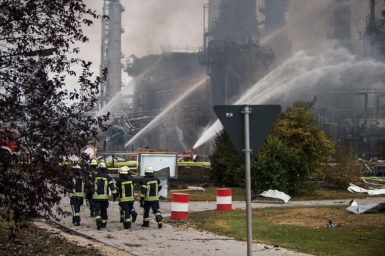 Bayernoil Vohburg Explosion