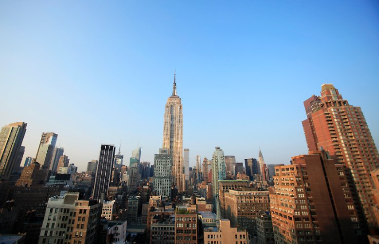 Das Wetter am 15. September 2008 war herrlich. New York erlebte einen wundervollen, warmen Spätsommertag.