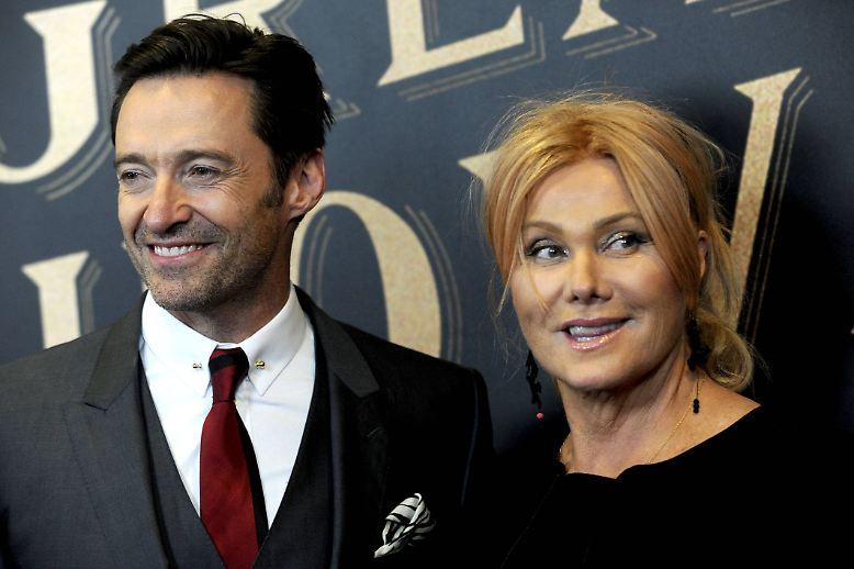 Wenn es nach seiner Frau Deborra-Lee Furness ginge, gäbe es zum 50. Geburtstag von Hugh Jackman ...