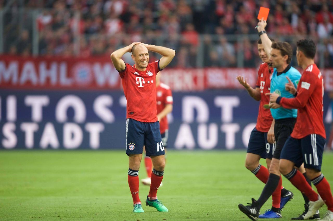 d5c8cda8140c2 Der Sport-Tag  Bayern-Star Robben