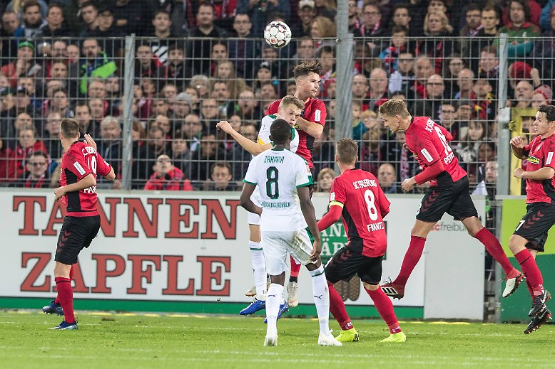 SC Freiburg - Borussia Mönchengladbach 3:1 (1:1)