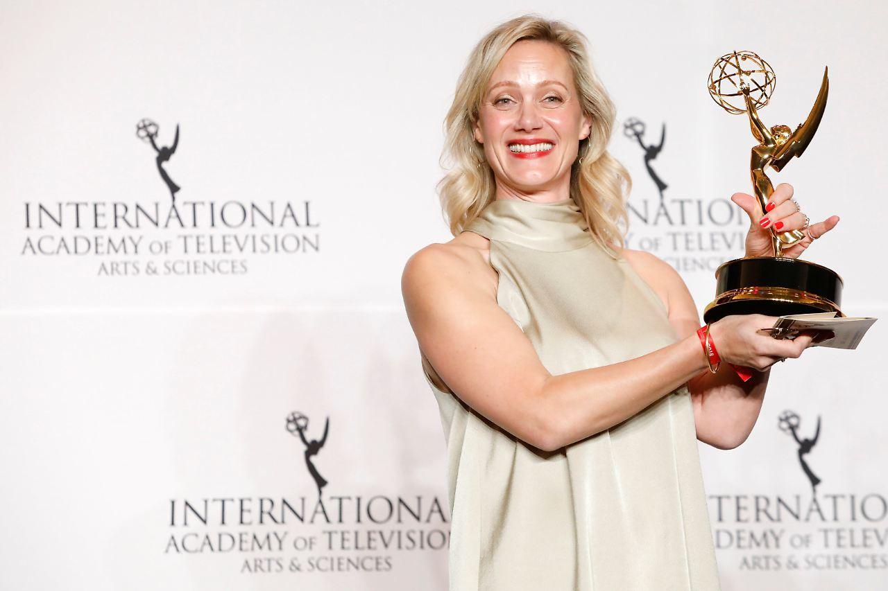 Deutsche Anna Schudt gewinnt International Emmy Award