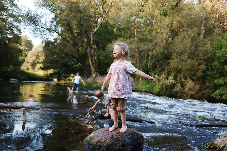 Josephine ist fünf. Sie ist mit dem Williams-Beuren-Syndrom, einer Veränderung auf  Chromosom 7, geboren worden.