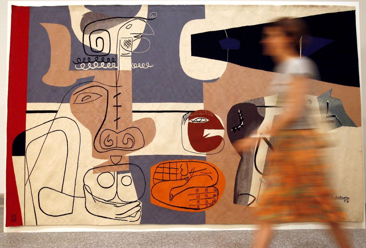 le corbusier in berlin martin gropius bau plant ausstellung n. Black Bedroom Furniture Sets. Home Design Ideas
