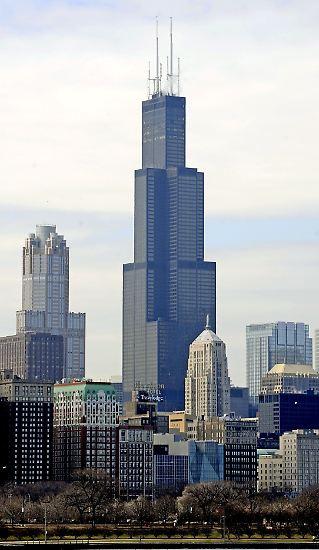 Aus Sears wird Willis Tower: Der höchste Wolkenkratzer der ...