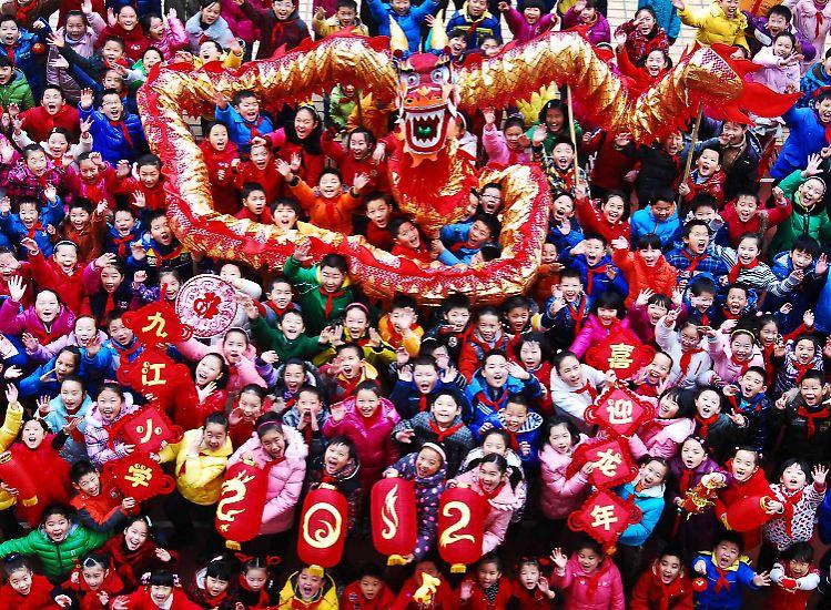 Neujahrsfest in China: Jahr der Schlange bringt Feuer und Wasser - n ...