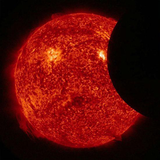 Seit jeher ist eine Sonnenfinsternis ...