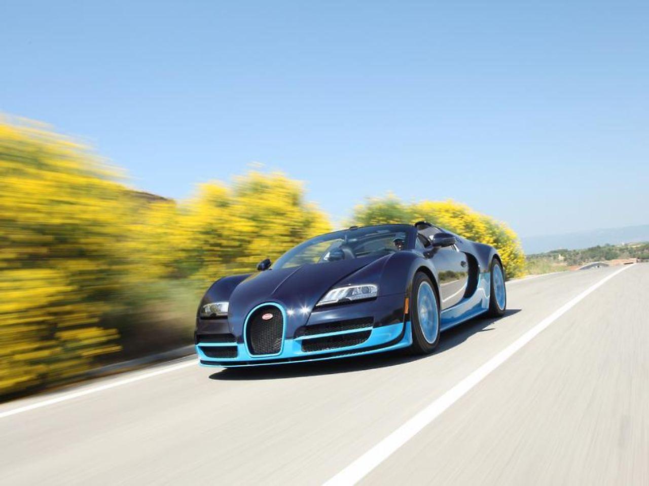 veyron vitesse f r zwei millionen euro 1200 ps f r neuen super bugatti n. Black Bedroom Furniture Sets. Home Design Ideas