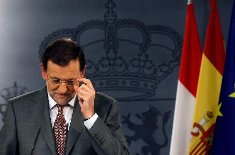 Für Mariano Rajoy war es mit Sicherheit kein leichter Schritt.