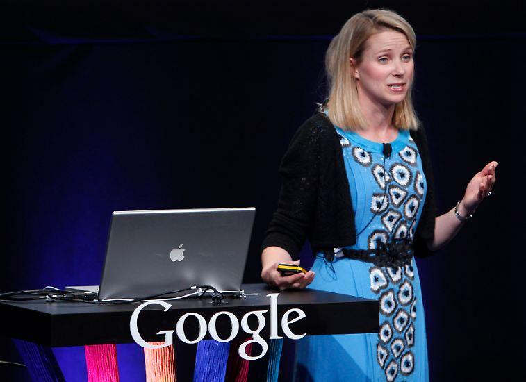 Sie ist eine der jüngsten Frauen, die in Listen der mächtigsten Frauen geführt wird: Marissa Mayer. Nach 13 Jahren bei Google wird sie nun Chefin des Internetkonzerns Yahoo.
