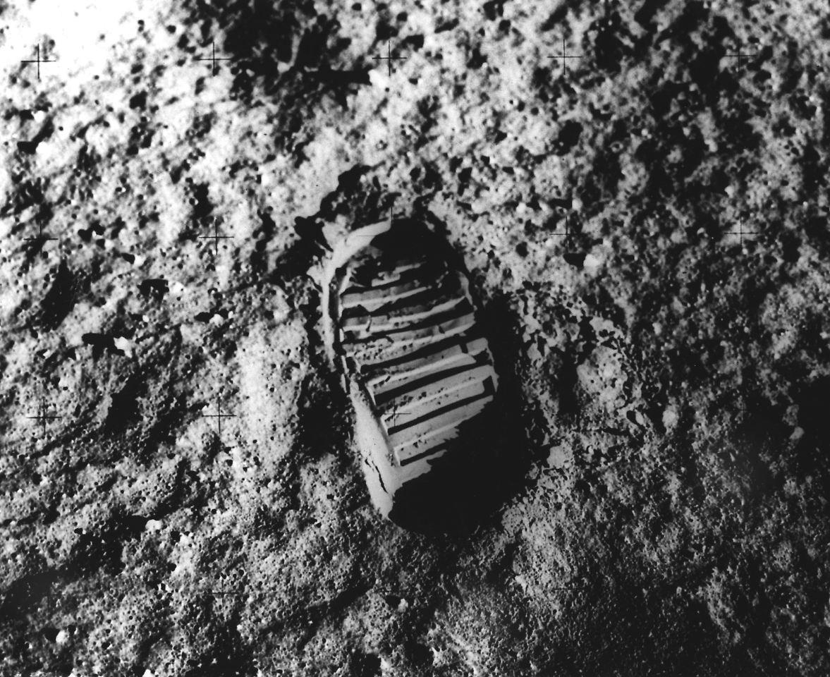Erste Landung Auf Dem Mond