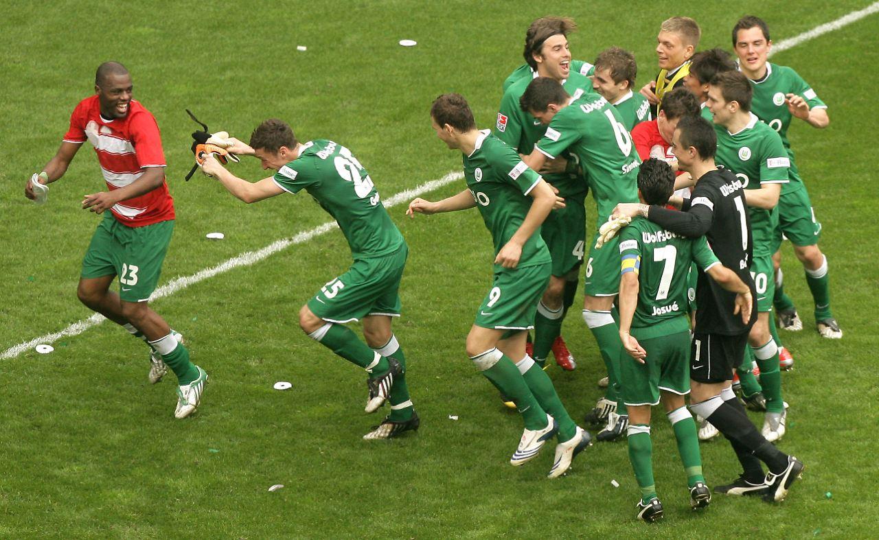 Wolfsburg Bayern 5-1