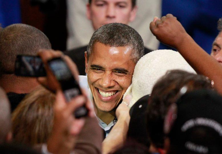 Eigentlich sah es so aus, als würde dieser Wahlkampf ein Spaziergang für Präsident Barack Obama.