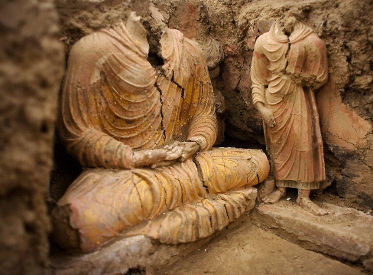 """""""Das ist noch bedeutender als Pompeji, noch umfangreicher"""", glauben Archäologen wie die Italienerin Roberta Marziani."""