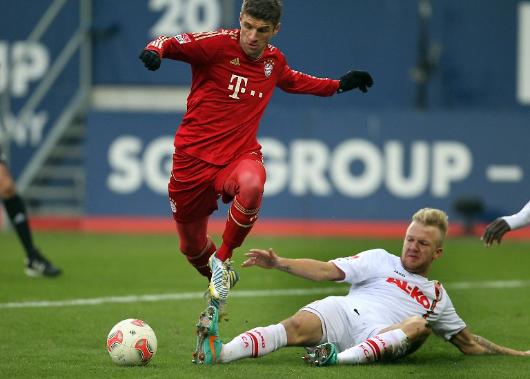 """""""Ich würde jetzt als Dortmunder Spieler mit 14 Punkten Rückstand nicht mehr von der Meisterschaft reden"""", lästerte der Münchner Spieler Thomas Müller am 16. Spieltag."""