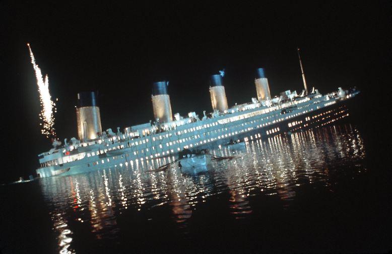 """""""… die auf der Titanic waren alle gesund - aber sie hatten kein Glück."""""""