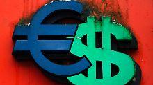 Dollar zu stark: Euro unter 1,25