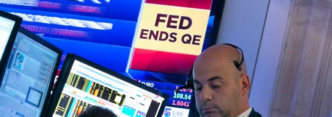 Das Kriseninstrument kommt zurück in den Koffer: Die Ausstiegspläne der Fed dürften die Wall Street noch lange beschäftigen.