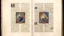 Das Petau Stundenbuch war lange im Besitz der Königlichen Bibliothek Kopenhagen.
