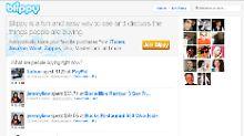 Blippy hat bislang fast ausschließlich amerikanische Nutzer.