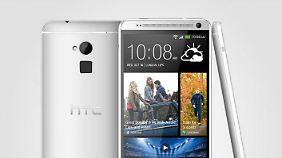 Nachdem detaillierte Fotos des Riesen-Smartphones aufgetaucht waren, war HTC in Zugzwang.