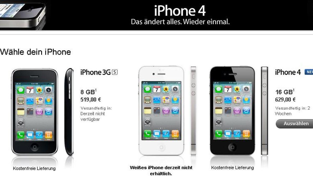Iphone  Lieferzeit Vodafone