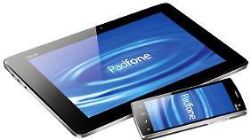 Wie schwer das Tablet-Smartphone-Duo ist, verschweigt Asus noch.