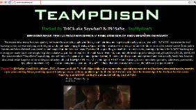 Teampoison hat auf der Webseite des mutmaßlichen Lulzsec-Mitglieds Joebie91 eine Botschaft hinterlassen.