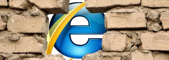 Internet Explorer Sicherheitslücke