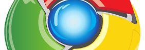 Das Logo des Google-Browsers Chrome.